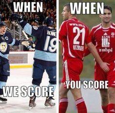 When we score. Oh my lol