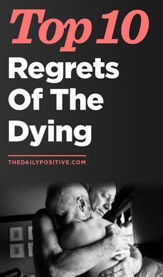Incredible infographic on regrets from the dying. Would you have any regrets, when it came down to the end of your life?