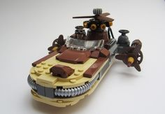 Steampunk Landspeeder: A LEGO® creation by KW Vauban : MOCpages.com
