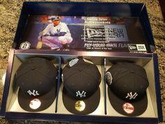 Derek Jeter Final Season Hat Set  Limited Edition NY Yankees New Era 7 1/2 7 5/8 #NewEra #NewYorkYankees