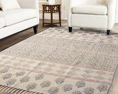 Handmade Rug / Carpet / Vintage Kantha Quilts by IndianWomensCrafts Dhurrie Rugs, Kilim Rugs, Anthropologie Rug, Star Rug, Indian Rugs, Rustic Rugs, Large Rugs, Throw Rugs, Floor Rugs
