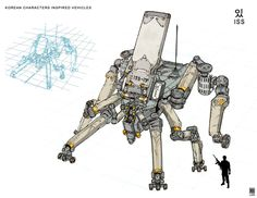 ArtStation - Korean Characters Inspired Architecture and Vehicles, Sheng Lam