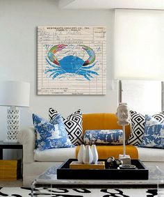 This Fresh from the Sea I Gallery-Wrapped Canvas by iCanvasART is perfect! #zulilyfinds