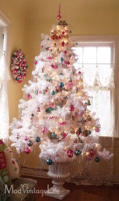 Vintage Christmas tree decorations...