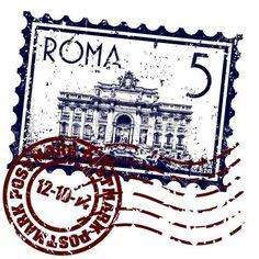 ilustración vectorial del único icono de Roma