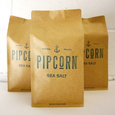 Pipcorn Sea Salt 3 Pack (for Pip's next birthday)