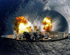 The United States Iowa Class Battleship