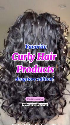 Curly Hair Tips, Curly Hair Styles Easy, Haircuts For Curly Hair, Curly Hair Care, Natural Hair Styles, Bobs For Curly Hair, Long Layered Curly Haircuts, Products For Curly Hair, Curly Hair Routine