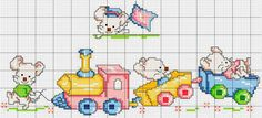 This Pin was discovered by Kri Baby Cross Stitch Patterns, Cross Stitch For Kids, Cross Stitch Bird, Cross Stitch Borders, Hand Embroidery Patterns, Cross Stitch Charts, Cross Stitch Designs, Cross Stitching, Cross Stitch Embroidery
