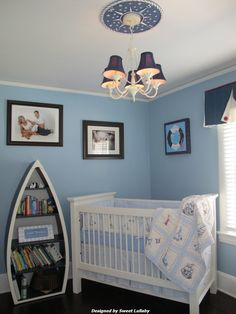 Adorable nautical nursery. #nautical #nursery