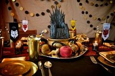Decorations for an epic Game of Thrones party!