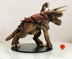 3d printed DnD Tarrasque. Printed by psn_jronne  #toysandgames #prusai3