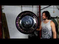 Kundalini Raising Phoenix  30'' Art Gong