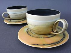 ivana rackov: Cups/Šolje. reminds me of the fur bowl and spoon