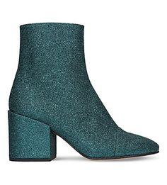DRIES VAN NOTEN - Glitter ankle boots | Selfridges.com