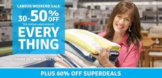 30-50% OFF Labour Weekend Sale - Everything @ Briscoes - Bargain Bro