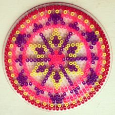 sandylandya@outlook.es  Mandala hama perler beads by coriander_dk