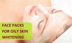 Natural Face Packs for Oily Skin Whitening http://tipsandbeauty.com/natural-face-packs-for-oily-skin-whitening/