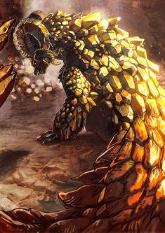 Monster Hunter Memes, Monster Hunter World, Fantasy Monster, Monster Art, Creature Concept Art, Creature Design, Cry Anime, Anime Art, Dragons