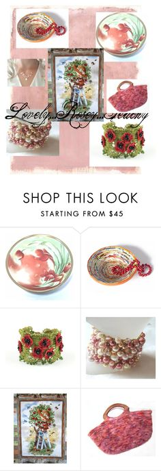 """Lovely...Rosey...Peachy"" by maryhopkins39 on Polyvore featuring Rothko and Brooks"