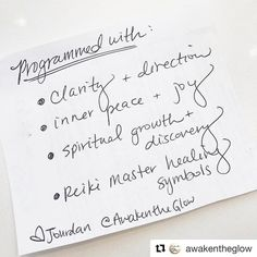Follow my new page @awakentheglow for crystals galore spiritual growth and meditation tips plus client testimonials!   #Repost @awakentheglow  When you purchase crystals through me the clearing blessing and dedication is included! Now the question is... what would you like to #manifest?  #awakentheglow #crystals #crystalsforsale #crystalhealer #crystalhealing #holistichealing #chakrabalancing #fluorite #crystallove #reiki #reikimaster #reikihealer #reikipractitioner #reikihealing…