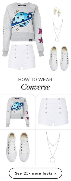 """Untitled #135"" by aleenghanem on Polyvore featuring House of Holland, Pierre Balmain, Converse, Botkier and BillyTheTree"