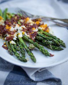 Neljän raaka-aineen luksusta - grillattua parsaa