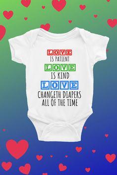 Kiss me feed me hug me love me baby grow bodysuit vest funny humour gift