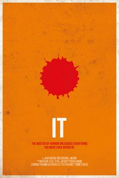 IT in Minimalist Movie Posters.
