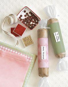 Cookie Dough neighbor gifts #diy #gifts #christmas