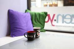 Coffee always taste better in the right cup Zombie Coffee, Self Serve, Coffee Branding, Coffee Shop, Mugs, Tableware, Coffee Shops, Loft Cafe, Dinnerware