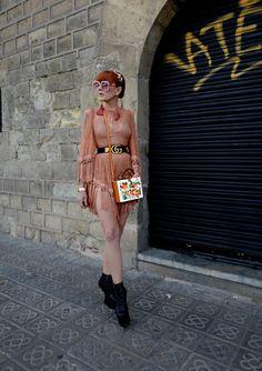 The wardrobe of Ms. B: Señorita