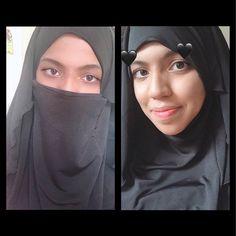 How To Wear Hijab, Beautiful Arab Women, Face Veil, Muslim Dress, Islamic Gifts, Niqab, Headdress, Transformers, Pink Color