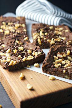 Fudge Chickpea PB Brownies (sub better than PB, skip nuts)
