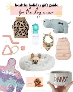 Great gift ideas for everyone in your life, including the cutest dog toys and accessories for the pet parents!