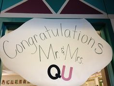 Kreative in Kinder: Q & U Wedding Fun!!