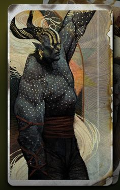 These cards were so beautiful, I just had to get the screenshots and share them. (Part Two: Classes) Character Creation, Character Art, Art Et Illustration, Character Illustration, Game Concept, Dragon Age Tarot Cards, Dragon Age Inquisition, Card Deck, Demons