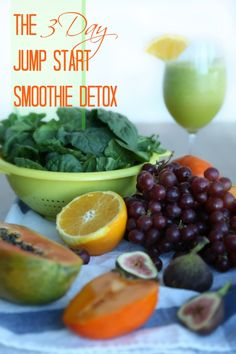 "3 Day Smoothie Detox - I don't really believe in cleanses and juice fasts but ""a light detox consisting of plenty (sufficient calories) of nutritious foods, rest, deep stretching, and being good to yourself,"" plus an extra dose of TLC and self-care sounds pretty appealing."