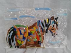 Hey, I found this really awesome Etsy listing at https://www.etsy.com/listing/243132701/fused-glass-horse-panel