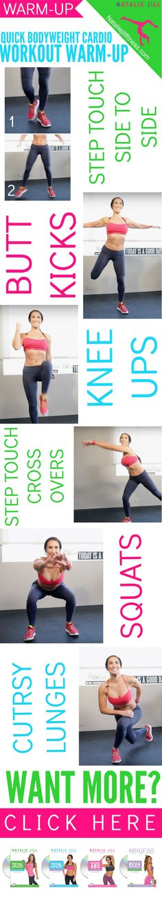 Get your blood flowing with this warm-up before your workouts! Click the image to watch the video.