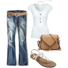 Casual Denim created by billi29 in Polyvore