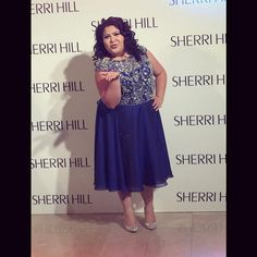 Raini Rodriguez looked so pretty for the Sherri Hill fashion show in New York during New York Fashion Week. Miss Raini was happy about being at the show Disney Channel Stars, Disney Stars, Raini Rodriguez, Unicorn Princess, Austin And Ally, Sherri Hill, Young And Beautiful, Famous People, Going Out