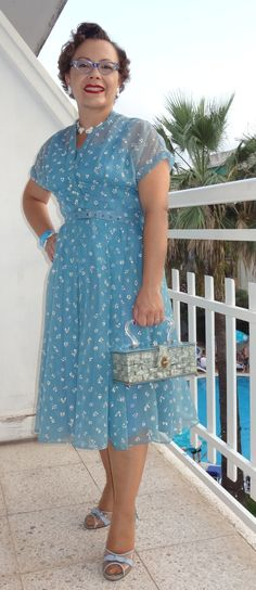 365 Vintage Days: Nylon dress