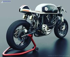 Ducati Cafe Racer design C SK-O by Arienti Design #motorcycles #caferacer #motos | caferacerpasion.com