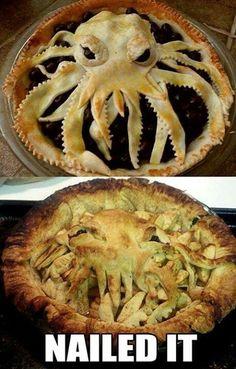 Scary pie