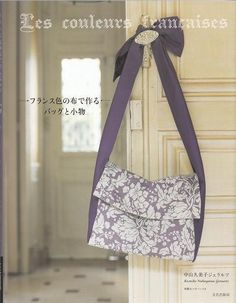 Bags & Zakka Goods made of French Color by JapanLovelyCrafts, $27.50