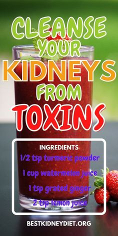 #TurmericExtract Kidney Health, Health Diet, Natural Colon Cleanse Detox, Improve Kidney Function, Not Drinking Enough Water, Turmeric Extract, Turmeric Health Benefits, Cleanse Recipes, How To Squeeze Lemons