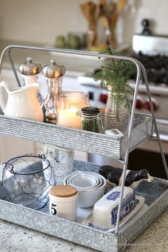 Image result for hgtv wooden 3 tier stand