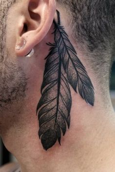Tattoo to represent native american side.