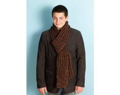 Crochet Rib Scarf Pattern